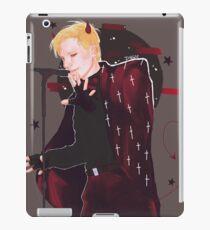 devil patrick iPad Case/Skin