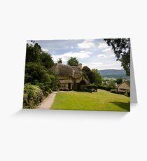 Selworthy Lawn, Exmoor Greeting Card