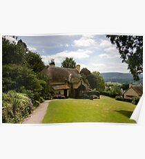 Selworthy Lawn, Exmoor Poster