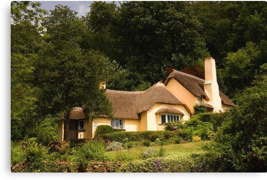 Selworthy Village Shop, Exmoor by David  Rowlatt