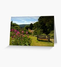 Selworthy, A Time to Reflect, Exmoor Greeting Card