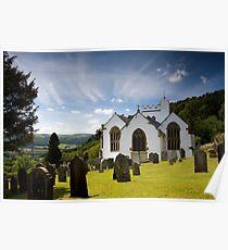 Selworthy Village Church, Exmoor Poster