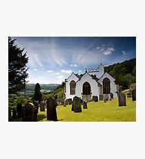 Selworthy Village Church, Exmoor Photographic Print
