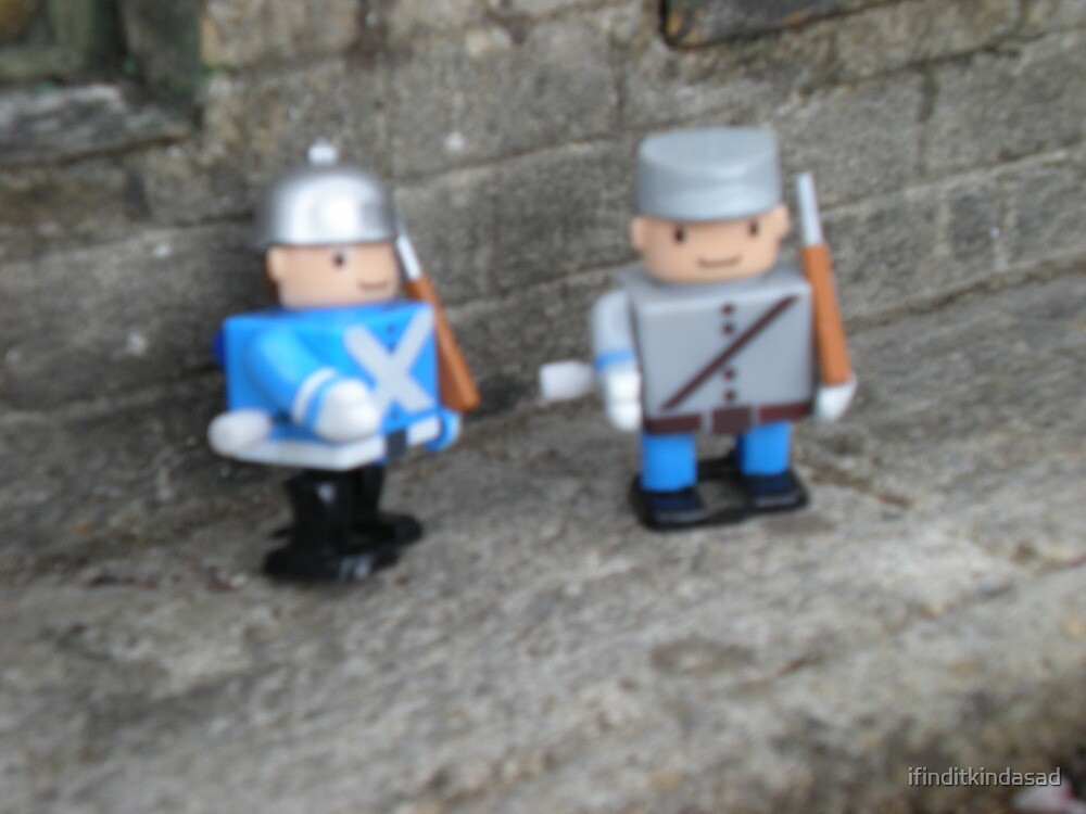 Like toy soldiers by ifinditkindasad