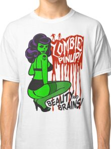 Zombie Pinup #1 Classic T-Shirt