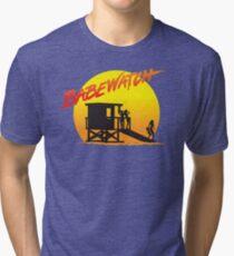 Babewatch (Baywatch) Tri-blend T-Shirt