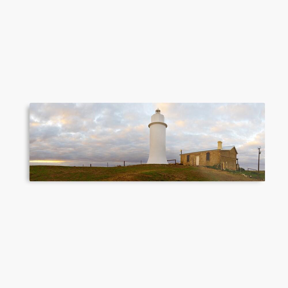 Point Malcom Lighthouse, Lake Alexandrina, South Australia Metal Print