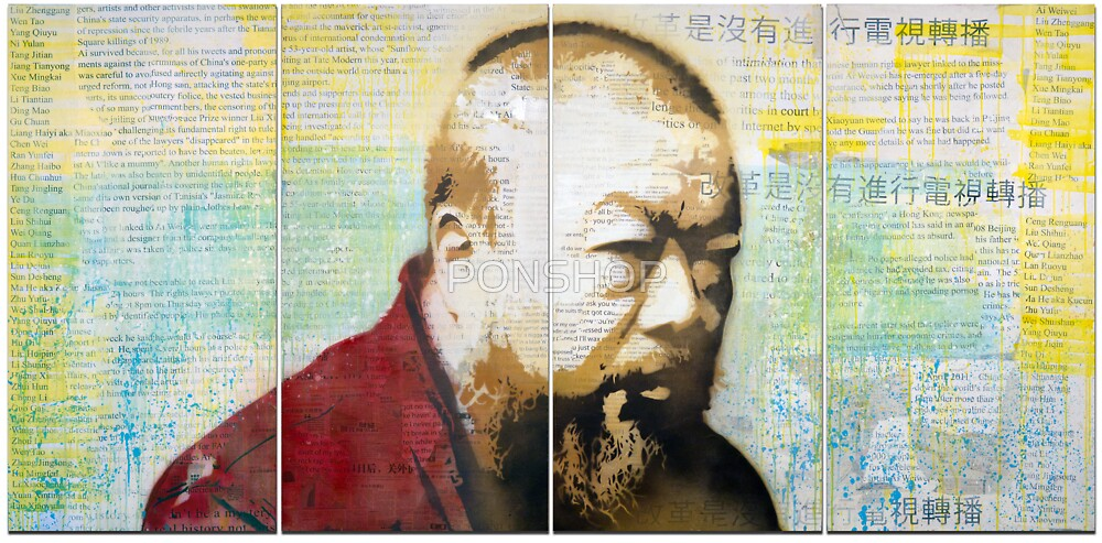 Tribute to Ai Weiwei: 21st Century Revolutionary by PONSHOP