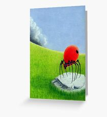 Storm Comming Greeting Card