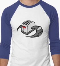 Frakking Toasters Men's Baseball ¾ T-Shirt