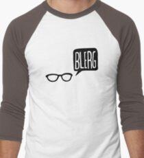 BLERG! Men's Baseball ¾ T-Shirt