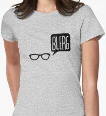BLERG! Women's Fitted T-Shirt