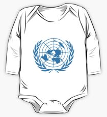 United Nations T-Shirt One Piece - Long Sleeve