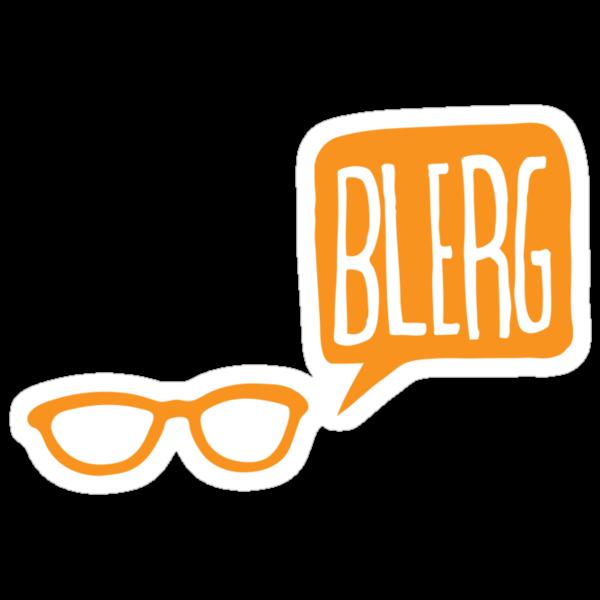 BLERG ORANGE! by sixtybones