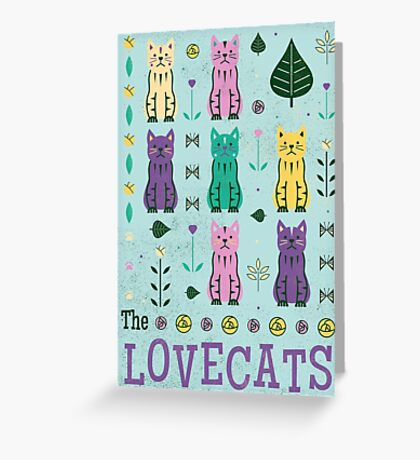 The Lovecats Greeting Card