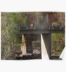 """Two Fellas In Fella-ship On The Bridge"" Poster"