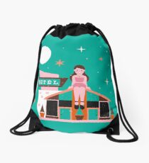 Motel Drawstring Bag