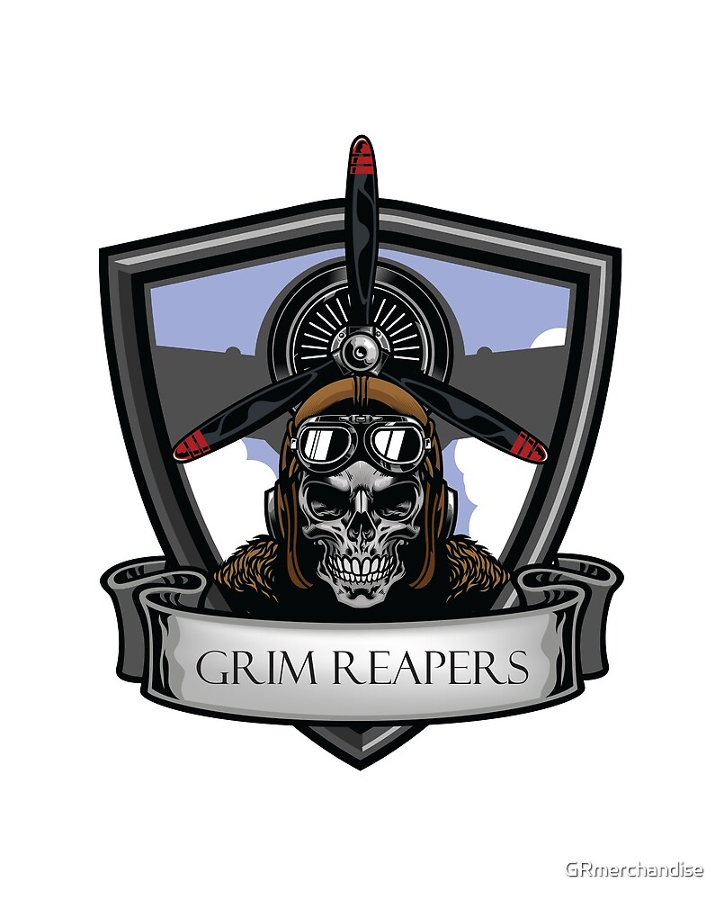 Grim Reapers Bluefor! by GRmerchandise