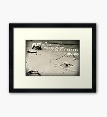 Carry Him Framed Print