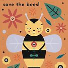 Save The Bees! by CarlyWatts