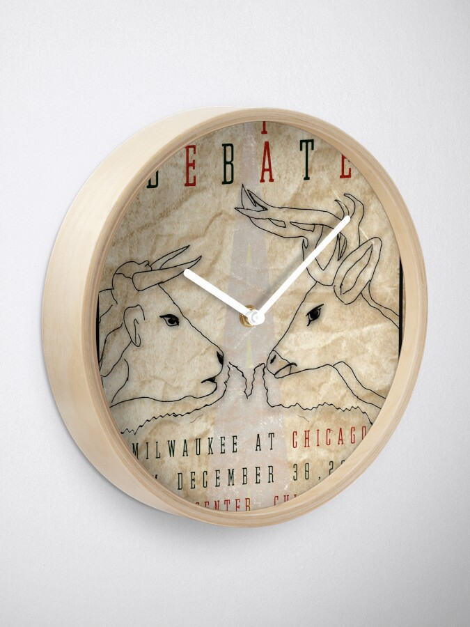 Alternate view of The I-94 Debate Clock