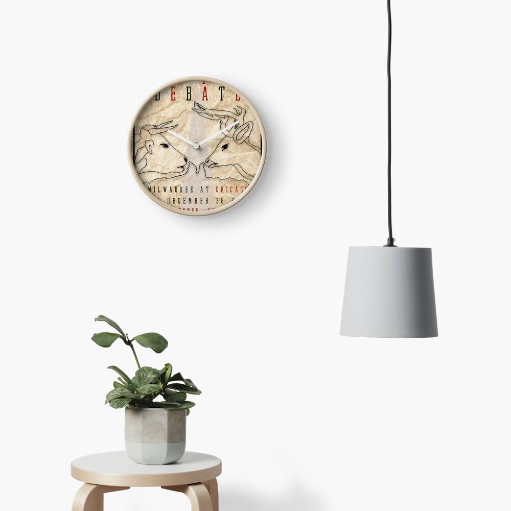 The I-94 Debate Clock