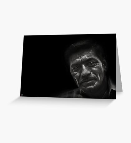 Faces of Venice - The Spaniard Greeting Card