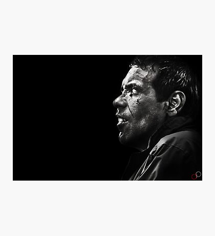 Faces of Venice - The Beggar Photographic Print