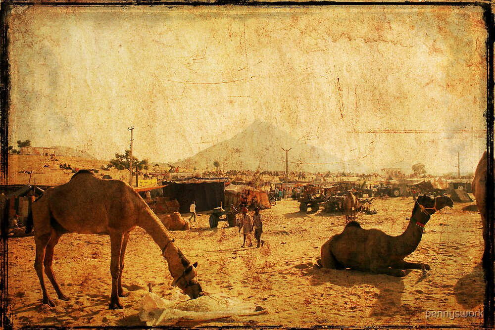 Pushkar Camel Fair 2 2007 by pennyswork