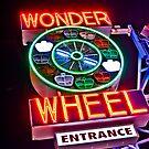 Wonder Wheel Entrance, Coney Island by rhysharper