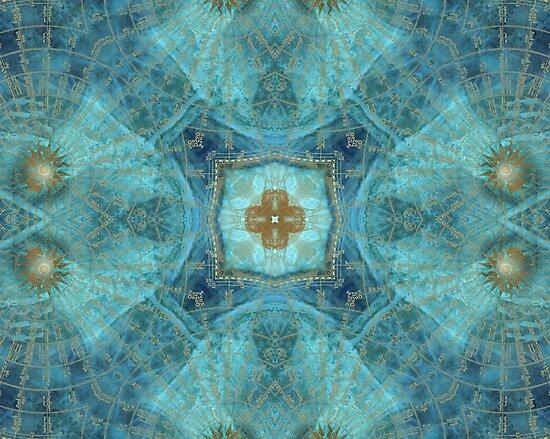 Mandala wind rose by JBJart