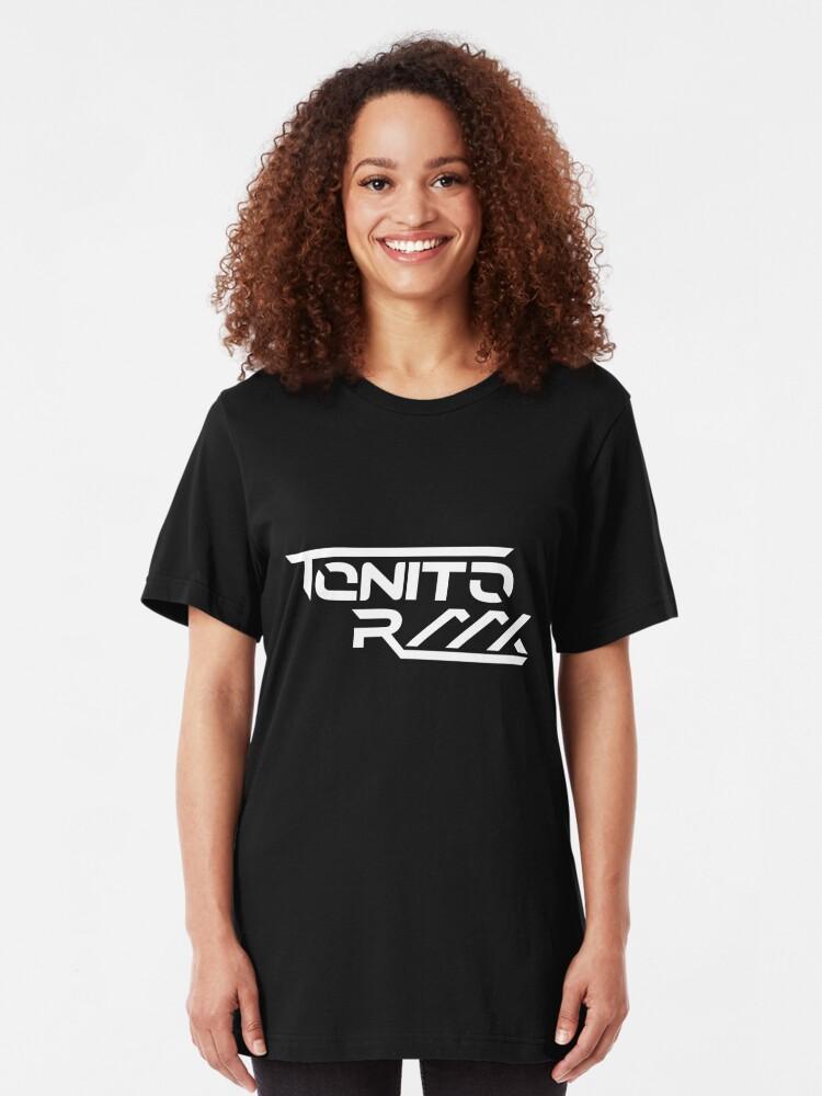 Alternate view of T0NIT0 RMX Slim Fit T-Shirt