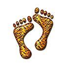 Tiger Feet #2 by MarianaEwa