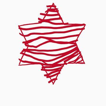 big red star by lucyandhenry
