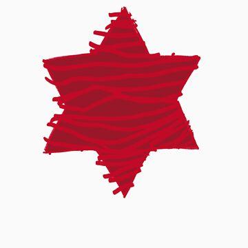 big red star 2.0 by lucyandhenry