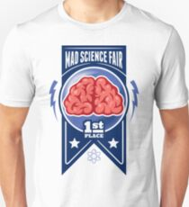 First Place at the Mad Science Fair Color T-Shirt
