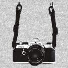 Vintage 35mm SLR Camera Pentax MX  by AnalogSoulPhoto