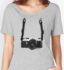 Vintage 35mm SLR Camera Pentax MX  Loose Fit T-Shirt