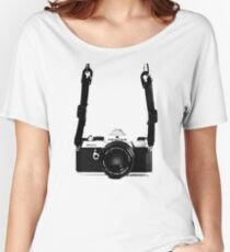Vintage 35mm SLR Camera Pentax MX  Women's Relaxed Fit T-Shirt