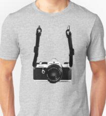 Vintage 35mm SLR Camera Pentax MX  Slim Fit T-Shirt