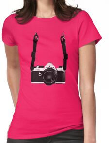 Vintage 35mm SLR Camera Pentax MX  Womens Fitted T-Shirt