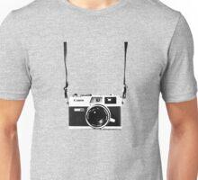 Vintage 35mm Rangefinder Camera Canon Canonet QL17 GIII Unisex T-Shirt