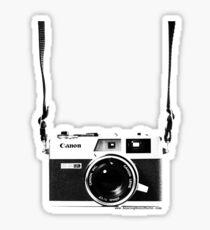 Vintage 35mm Rangefinder Camera Canon Canonet QL17 GIII Sticker