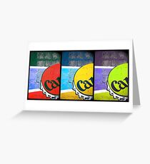 Carib Beer Art Greeting Card