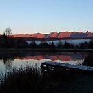 Drakensberg Sunrise by Mark Lindsay