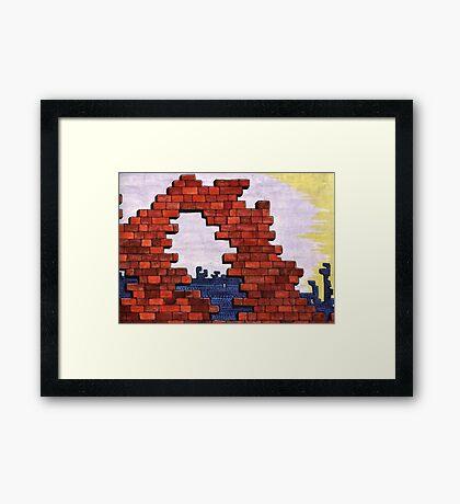 30 - DERELICTION - WATERCOLOUR - 1978 Framed Print