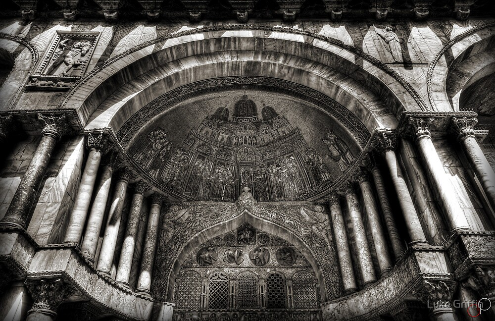 Threshold - St Mark's Basilica, Venice by Luke Griffin