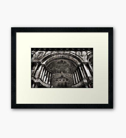 Threshold - St Mark's Basilica, Venice Framed Print