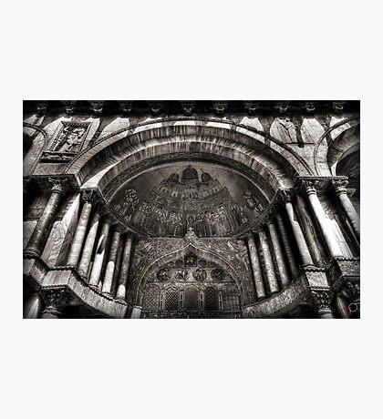 Threshold - St Mark's Basilica, Venice Photographic Print