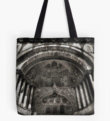 Threshold - St Mark's Basilica, Venice Tote Bag
